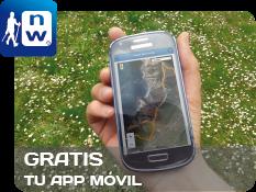 App de los Centros Nordic Walking Guneak